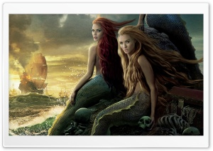 Sirens, Pirates Of The Caribbean On Stranger Tides HD Wide Wallpaper for Widescreen