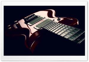 Six String Electric Guitar HD Wide Wallpaper for 4K UHD Widescreen desktop & smartphone