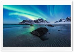 Skagsanden beach, Norway HD Wide Wallpaper for 4K UHD Widescreen desktop & smartphone