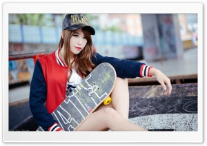 Skateboard HD Wide Wallpaper for Widescreen