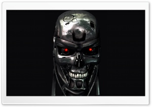 Skeleton Robot HD Wide Wallpaper for Widescreen