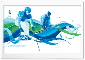 Ski Cross HD Wide Wallpaper for Widescreen