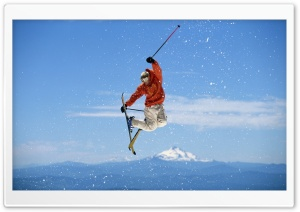 Ski Freestyle HD Wide Wallpaper for Widescreen