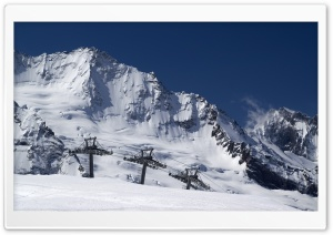 Ski Lift, Winter HD Wide Wallpaper for Widescreen