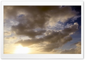 Skies over Dhaka HD Wide Wallpaper for Widescreen
