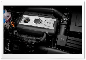 Skoda TSI Engine HD Wide Wallpaper for Widescreen