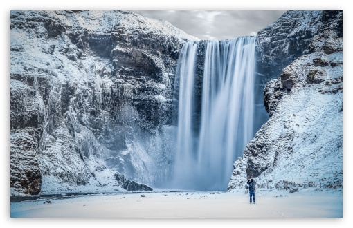 Skogafoss Waterfall, Iceland, Winter ❤ 4K UHD Wallpaper for Wide 16:10 5:3 Widescreen WHXGA WQXGA WUXGA WXGA WGA ; UltraWide 21:9 24:10 ; 4K UHD 16:9 Ultra High Definition 2160p 1440p 1080p 900p 720p ; UHD 16:9 2160p 1440p 1080p 900p 720p ; Standard 4:3 5:4 3:2 Fullscreen UXGA XGA SVGA QSXGA SXGA DVGA HVGA HQVGA ( Apple PowerBook G4 iPhone 4 3G 3GS iPod Touch ) ; Smartphone 16:9 3:2 5:3 2160p 1440p 1080p 900p 720p DVGA HVGA HQVGA ( Apple PowerBook G4 iPhone 4 3G 3GS iPod Touch ) WGA ; Tablet 1:1 ; iPad 1/2/Mini ; Mobile 4:3 5:3 3:2 16:9 5:4 - UXGA XGA SVGA WGA DVGA HVGA HQVGA ( Apple PowerBook G4 iPhone 4 3G 3GS iPod Touch ) 2160p 1440p 1080p 900p 720p QSXGA SXGA ; Dual 16:10 5:3 16:9 4:3 5:4 3:2 WHXGA WQXGA WUXGA WXGA WGA 2160p 1440p 1080p 900p 720p UXGA XGA SVGA QSXGA SXGA DVGA HVGA HQVGA ( Apple PowerBook G4 iPhone 4 3G 3GS iPod Touch ) ;