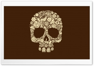 Skull Art HD Wide Wallpaper for Widescreen