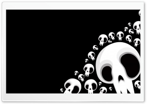 Skulls HD Wide Wallpaper for Widescreen