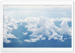 Sky And Clouds Aerial Photography HD Wide Wallpaper for Widescreen