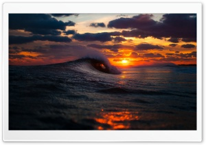 Sky and Wave HD Wide Wallpaper for Widescreen