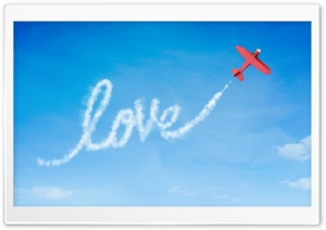 Sky Message HD Wide Wallpaper for Widescreen
