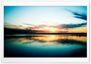 Sky Reflection HD Wide Wallpaper for Widescreen