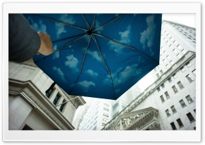 Sky Umbrella HD Wide Wallpaper for Widescreen
