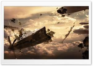 Sky War HD Wide Wallpaper for Widescreen