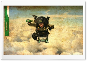 Skydiver HD Wide Wallpaper for Widescreen