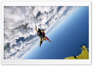 Skydiving HD Wide Wallpaper for 4K UHD Widescreen desktop & smartphone