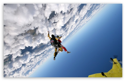 Skydiving HD wallpaper for Wide 16:10 5:3 Widescreen WHXGA WQXGA WUXGA WXGA WGA ; HD 16:9 High Definition WQHD QWXGA 1080p 900p 720p QHD nHD ; Standard 4:3 5:4 3:2 Fullscreen UXGA XGA SVGA QSXGA SXGA DVGA HVGA HQVGA devices ( Apple PowerBook G4 iPhone 4 3G 3GS iPod Touch ) ; Tablet 1:1 ; iPad 1/2/Mini ; Mobile 4:3 5:3 3:2 16:9 5:4 - UXGA XGA SVGA WGA DVGA HVGA HQVGA devices ( Apple PowerBook G4 iPhone 4 3G 3GS iPod Touch ) WQHD QWXGA 1080p 900p 720p QHD nHD QSXGA SXGA ;