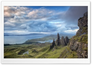 Skye Island, Scotland HD Wide Wallpaper for Widescreen