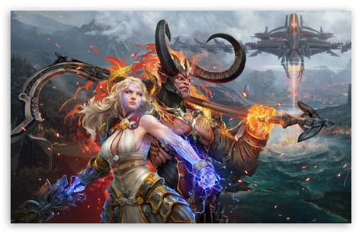 Skyforge game, Demon and Divine ❤ 4K UHD Wallpaper for Wide 16:10 5:3 Widescreen WHXGA WQXGA WUXGA WXGA WGA ; UltraWide 21:9 24:10 ; 4K UHD 16:9 Ultra High Definition 2160p 1440p 1080p 900p 720p ; UHD 16:9 2160p 1440p 1080p 900p 720p ; Standard 4:3 5:4 3:2 Fullscreen UXGA XGA SVGA QSXGA SXGA DVGA HVGA HQVGA ( Apple PowerBook G4 iPhone 4 3G 3GS iPod Touch ) ; Smartphone 16:9 3:2 5:3 2160p 1440p 1080p 900p 720p DVGA HVGA HQVGA ( Apple PowerBook G4 iPhone 4 3G 3GS iPod Touch ) WGA ; Tablet 1:1 ; iPad 1/2/Mini ; Mobile 4:3 5:3 3:2 16:9 5:4 - UXGA XGA SVGA WGA DVGA HVGA HQVGA ( Apple PowerBook G4 iPhone 4 3G 3GS iPod Touch ) 2160p 1440p 1080p 900p 720p QSXGA SXGA ; Dual 16:10 5:3 4:3 5:4 3:2 WHXGA WQXGA WUXGA WXGA WGA UXGA XGA SVGA QSXGA SXGA DVGA HVGA HQVGA ( Apple PowerBook G4 iPhone 4 3G 3GS iPod Touch ) ; Triple 16:10 5:3 16:9 4:3 5:4 3:2 WHXGA WQXGA WUXGA WXGA WGA 2160p 1440p 1080p 900p 720p UXGA XGA SVGA QSXGA SXGA DVGA HVGA HQVGA ( Apple PowerBook G4 iPhone 4 3G 3GS iPod Touch ) ;