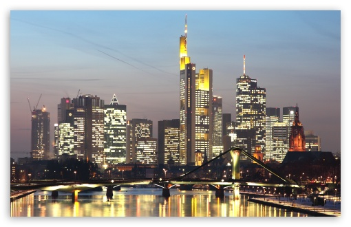 Skyline of Frankfurt am Main, Germany HD wallpaper for Wide 16:10 5:3 Widescreen WHXGA WQXGA WUXGA WXGA WGA ; HD 16:9 High Definition WQHD QWXGA 1080p 900p 720p QHD nHD ; Standard 4:3 5:4 3:2 Fullscreen UXGA XGA SVGA QSXGA SXGA DVGA HVGA HQVGA devices ( Apple PowerBook G4 iPhone 4 3G 3GS iPod Touch ) ; Tablet 1:1 ; iPad 1/2/Mini ; Mobile 4:3 5:3 3:2 16:9 5:4 - UXGA XGA SVGA WGA DVGA HVGA HQVGA devices ( Apple PowerBook G4 iPhone 4 3G 3GS iPod Touch ) WQHD QWXGA 1080p 900p 720p QHD nHD QSXGA SXGA ;
