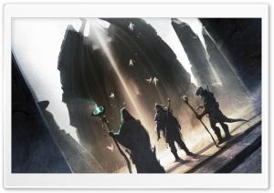 Skyrim Concept Art HD Wide Wallpaper for Widescreen