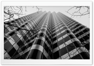 Skyscraper Black and White Ultra HD Wallpaper for 4K UHD Widescreen desktop, tablet & smartphone