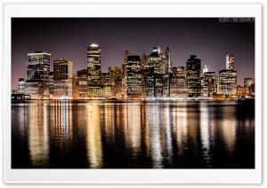 Skyscrapers of Manhattan HD Wide Wallpaper for 4K UHD Widescreen desktop & smartphone