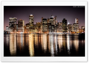 Skyscrapers of Manhattan Ultra HD Wallpaper for 4K UHD Widescreen desktop, tablet & smartphone