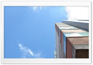 Skyward Building HD Wide Wallpaper for Widescreen