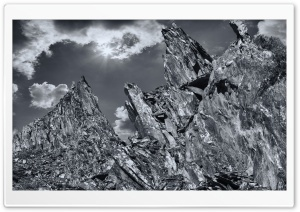 Slate Quarry HD Wide Wallpaper for Widescreen