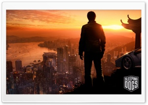 Sleeping Dogs Game - Sunset HD Wide Wallpaper for Widescreen
