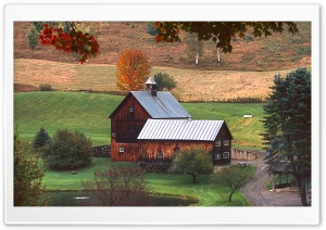 Sleepy Hollow Farm HD Wide Wallpaper for Widescreen