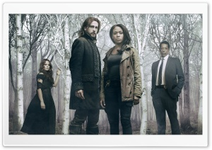 Sleepy Hollow TV Show Cast HD Wide Wallpaper for Widescreen