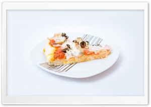 Slice of Pizza HD Wide Wallpaper for Widescreen