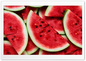 Sliced Watermelon HD Wide Wallpaper for Widescreen