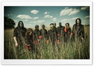 Slipknot Band HD Wide Wallpaper for Widescreen