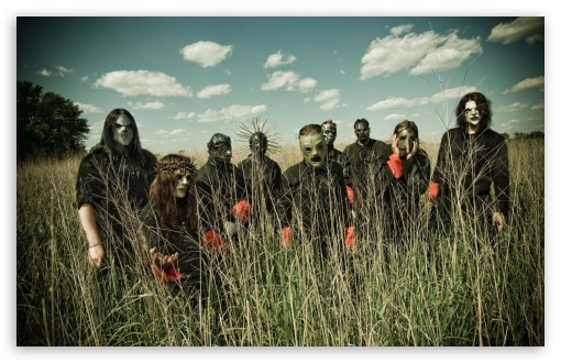 Slipknot Band HD wallpaper for Wide 16:10 5:3 Widescreen WHXGA WQXGA WUXGA WXGA WGA ; HD 16:9 High Definition WQHD QWXGA 1080p 900p 720p QHD nHD ; Standard 4:3 3:2 Fullscreen UXGA XGA SVGA DVGA HVGA HQVGA devices ( Apple PowerBook G4 iPhone 4 3G 3GS iPod Touch ) ; iPad 1/2/Mini ; Mobile 4:3 5:3 3:2 16:9 - UXGA XGA SVGA WGA DVGA HVGA HQVGA devices ( Apple PowerBook G4 iPhone 4 3G 3GS iPod Touch ) WQHD QWXGA 1080p 900p 720p QHD nHD ;