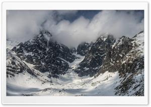 Slovakia Mountains Winter Landscape Ultra HD Wallpaper for 4K UHD Widescreen desktop, tablet & smartphone