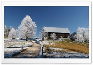 Slovenias Winter Wonderland HD Wide Wallpaper for Widescreen