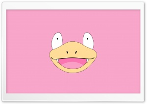 Slowpoke Face (Pokemon) HD Wide Wallpaper for Widescreen