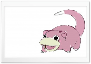 Slowpoke Pokemon HD Wide Wallpaper for Widescreen