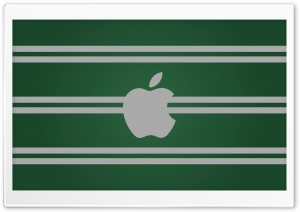 Slytherin Apple HD Wide Wallpaper for Widescreen