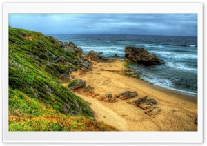 Small Beach, HDR HD Wide Wallpaper for Widescreen