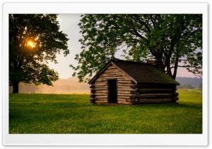 Small Cabin Landscape Ultra HD Wallpaper for 4K UHD Widescreen desktop, tablet & smartphone