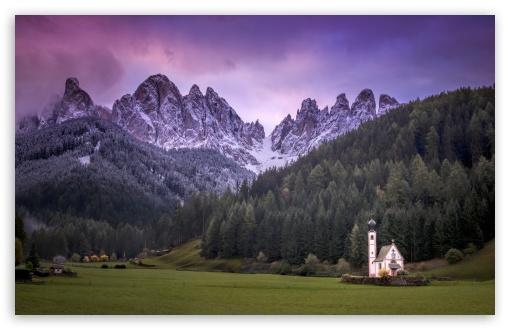 Small Church, Mountain Landscape, Italy ❤ 4K UHD Wallpaper for Wide 16:10 5:3 Widescreen WHXGA WQXGA WUXGA WXGA WGA ; 4K UHD 16:9 Ultra High Definition 2160p 1440p 1080p 900p 720p ; UHD 16:9 2160p 1440p 1080p 900p 720p ; Standard 5:4 3:2 Fullscreen QSXGA SXGA DVGA HVGA HQVGA ( Apple PowerBook G4 iPhone 4 3G 3GS iPod Touch ) ; Mobile 5:3 3:2 16:9 5:4 - WGA DVGA HVGA HQVGA ( Apple PowerBook G4 iPhone 4 3G 3GS iPod Touch ) 2160p 1440p 1080p 900p 720p QSXGA SXGA ;