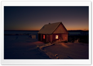 Small Cottage HD Wide Wallpaper for Widescreen