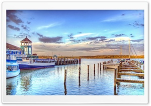 Small Port HDR HD Wide Wallpaper for Widescreen