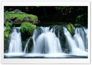 Small Waterfall HD Wide Wallpaper for Widescreen