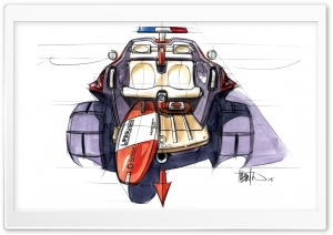 Smart Rescue Sketch HD Wide Wallpaper for Widescreen